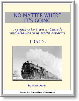 book cover: No Matter Where It's Going: 1950's