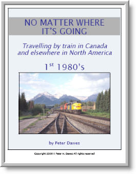 book cover: No Matter Where It's Going: 1st 1980's