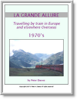 book cover: La Grande Allure: 1970's